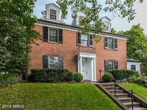 Photo of 3803 WOODBINE ST, CHEVY CHASE, MD 20815 (MLS # MC10311364)