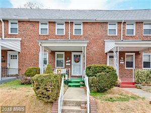 Photo of 5 PROSPECT AVE S, CATONSVILLE, MD 21228 (MLS # BC10112370)