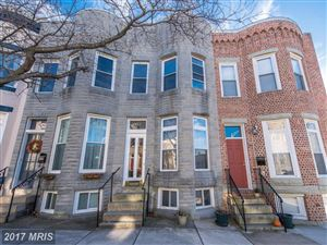Photo of 851 POWERS ST, BALTIMORE, MD 21211 (MLS # BA10112379)