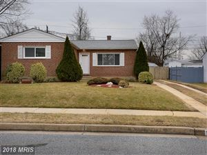 Photo of 911 BARDSWELL RD, CATONSVILLE, MD 21228 (MLS # BC10147386)