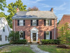 Photo of 4125 WOODBINE ST, CHEVY CHASE, MD 20815 (MLS # MC10184387)