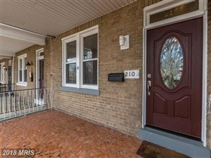 Photo of 210 VARNUM ST NW, WASHINGTON, DC 20011 (MLS # DC10141420)
