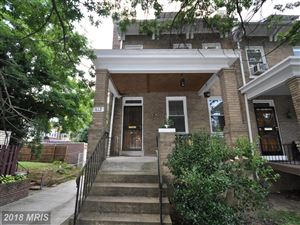 Photo of 412 WEBSTER ST NW, WASHINGTON, DC 20011 (MLS # DC10298440)