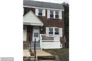 Photo of 137 MEADOW RD, BALTIMORE, MD 21225 (MLS # AA10121453)