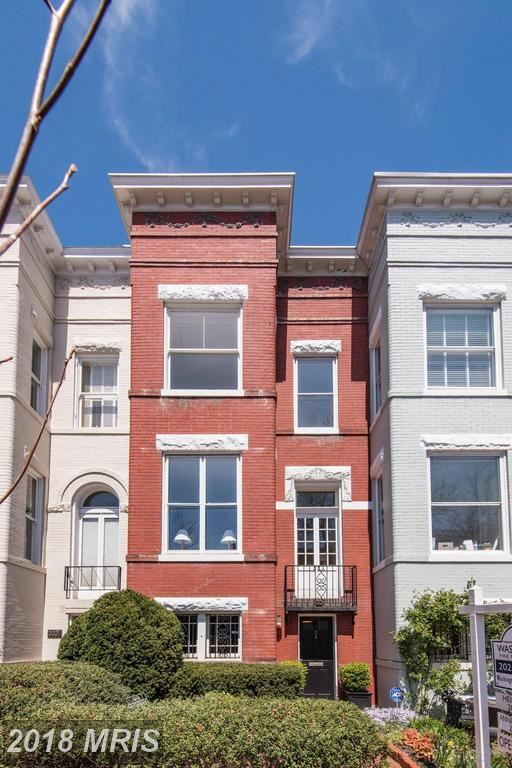 Photo for 3319 P ST NW, WASHINGTON, DC 20007 (MLS # DC10137465)