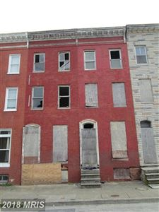 Photo of 1605 RETREAT ST, BALTIMORE, MD 21217 (MLS # BA10275514)