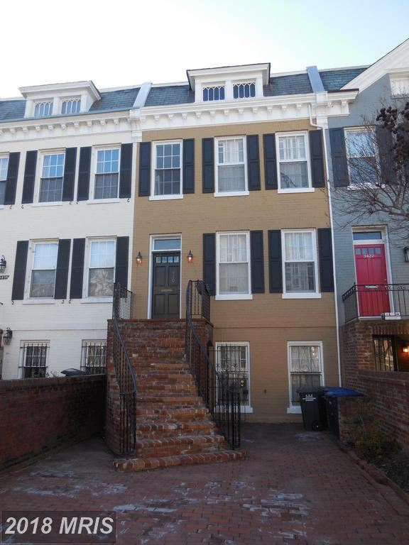 Photo for 3420 R ST NW, WASHINGTON, DC 20007 (MLS # DC10168532)