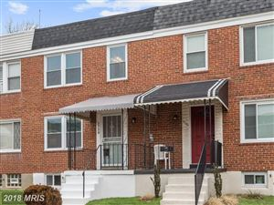 Photo of 3738 BONVIEW AVE, BALTIMORE, MD 21213 (MLS # BA10120547)