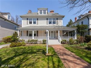 Photo of 11WEST IRVING ST, CHEVY CHASE, MD 20815 (MLS # MC10208552)