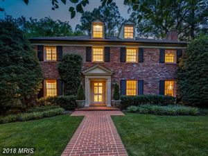 Photo of 5818 HILLBURNE WAY, CHEVY CHASE, MD 20815 (MLS # MC10320554)