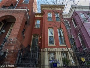 Photo of 1406 SWANN ST NW, WASHINGTON, DC 20009 (MLS # DC10192565)