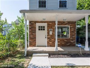 Photo of 409 SAVANNAH ST SE, WASHINGTON, DC 20032 (MLS # DC10299571)