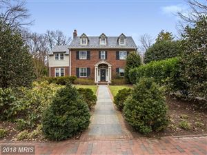Photo of 125 GRAFTON ST, CHEVY CHASE, MD 20815 (MLS # MC10175591)