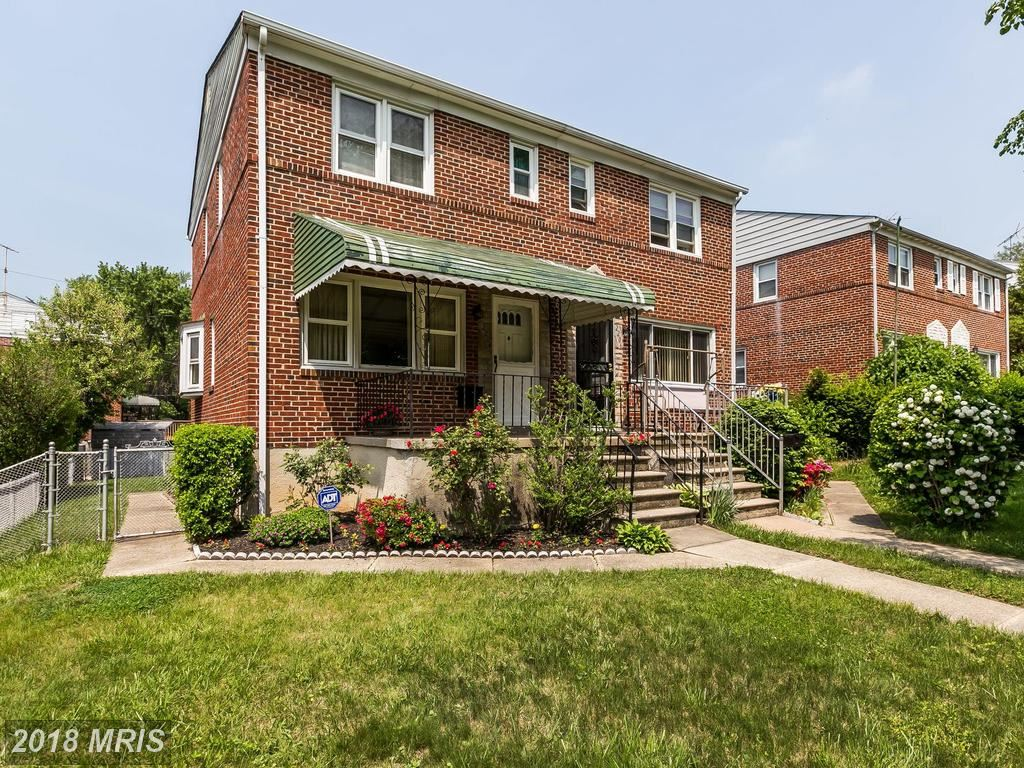 Photo for 2204 CLOVILLE AVE, BALTIMORE, MD 21214 (MLS # BA10242611)