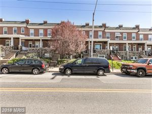 Photo of 1227 UNION AVE, BALTIMORE, MD 21211 (MLS # BA10217623)