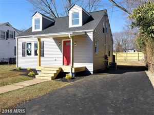Photo of 1014 JACKSON ST, ANNAPOLIS, MD 21403 (MLS # AA10181624)