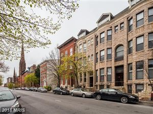 Photo of 836 PARK AVE #A, BALTIMORE, MD 21201 (MLS # BA10002631)