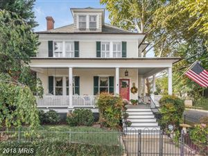 Photo for 37 FRANKLIN ST, ANNAPOLIS, MD 21401 (MLS # AA10080634)