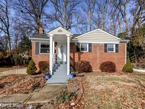Photo of 7110 STRATHMORE ST, FALLS CHURCH, VA 22042 (MLS # FX10133649)