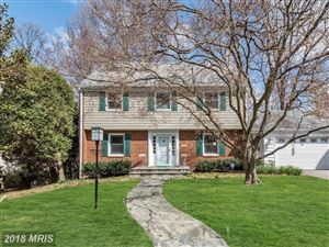 Photo of 8022 GLENDALE RD, CHEVY CHASE, MD 20815 (MLS # MC10206660)