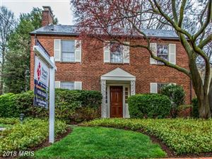 Photo of 4104 BLACKTHORN ST, CHEVY CHASE, MD 20815 (MLS # MC10206665)