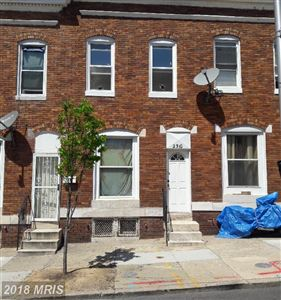 Photo of 2310 FAYETTE ST W, BALTIMORE, MD 21223 (MLS # BA10221673)