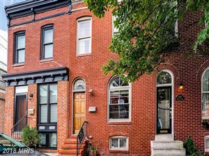 Photo of 1452 HENRY ST, BALTIMORE, MD 21230 (MLS # BA10311706)