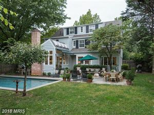 Photo of 30 QUINCY ST, CHEVY CHASE, MD 20815 (MLS # MC10162770)