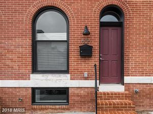 Photo of 805 CHESTER ST, BALTIMORE, MD 21205 (MLS # BA10245797)
