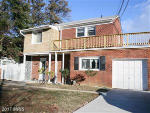 Photo of 7605 HAMMOND AVE, TAKOMA PARK, MD 20912 (MLS # MC9651810)
