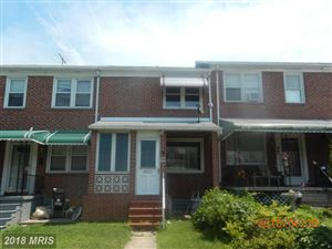 Photo of 119 WILTSHIRE RD, BALTIMORE, MD 21221 (MLS # BC10277837)