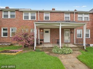 Photo of 4642 MARBLE HALL RD, BALTIMORE, MD 21239 (MLS # BA10245853)