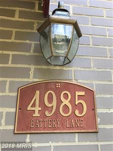 Photo of 4985 BATTERY LN, BETHESDA, MD 20814 (MLS # MC10176855)