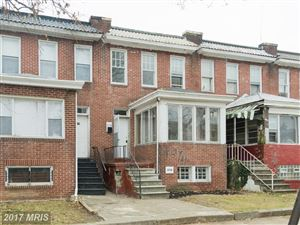 Photo of 3116 SUMTER AVE, BALTIMORE, MD 21215 (MLS # BA10120867)