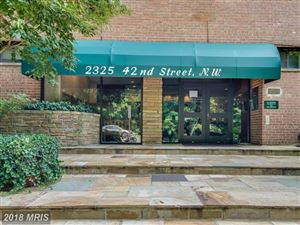 Photo of 2325 42ND ST NW #209, WASHINGTON, DC 20007 (MLS # DC10186882)
