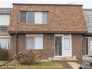Photo of 466 DEER PARK RD #15-F, GAITHERSBURG, MD 20877 (MLS # MC10162906)
