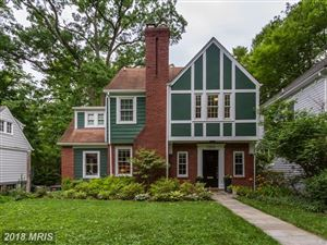 Photo of 7310 DELFIELD ST, CHEVY CHASE, MD 20815 (MLS # MC10284924)