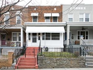Photo of 805 DECATUR ST NW, WASHINGTON, DC 20011 (MLS # DC10194939)