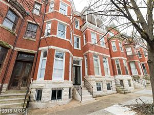 Photo of 2122 BOLTON ST, BALTIMORE, MD 21217 (MLS # BA10219947)