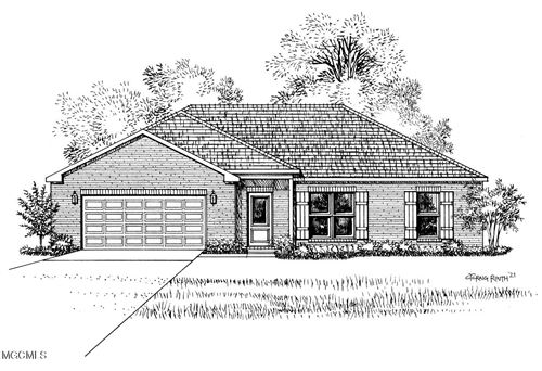Photo of 19480 Stewart St, Saucier, MS 39574 (MLS # 370058)