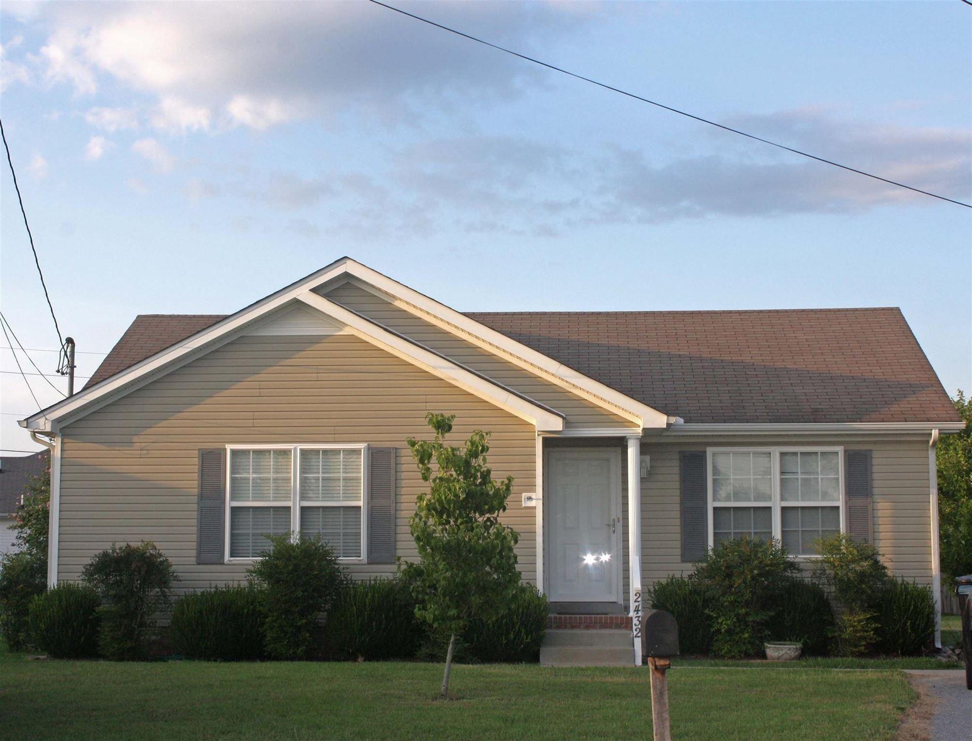 2432 Plymouth Ct, Murfreesboro, TN 37127 - MLS#: 2221010