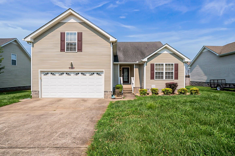 3684 Kendra Ct S, Clarksville, TN 37040 - MLS#: 2276011