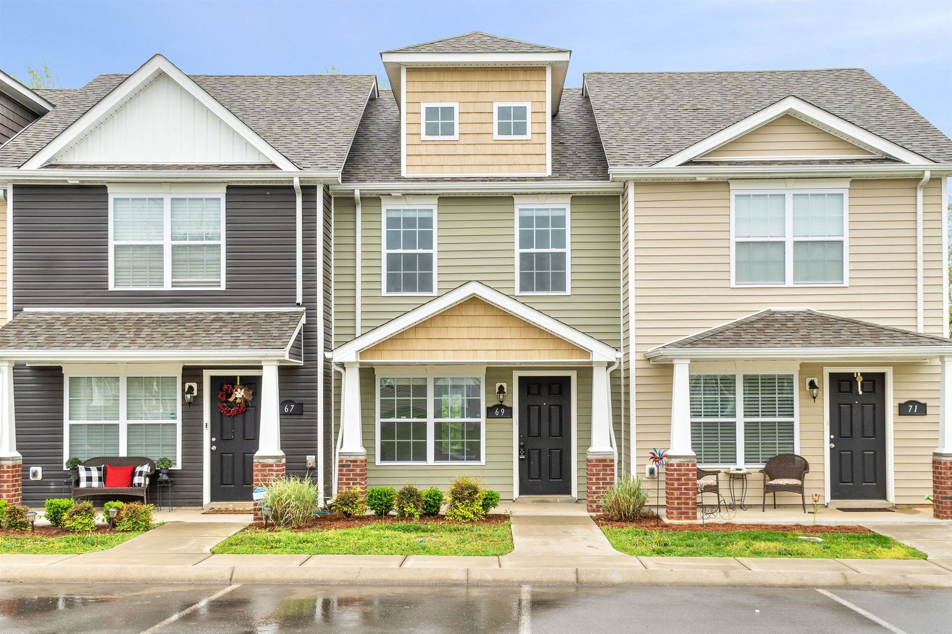 69 Ellington Ter, Clarksville, TN 37040 - MLS#: 2243038