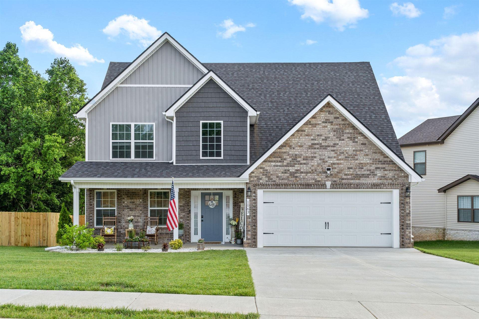 1063 Barnhill Rd, Clarksville, TN 37043 - MLS#: 2261052