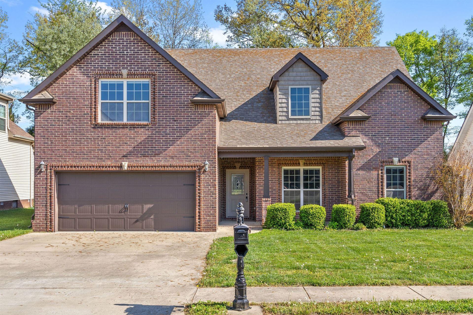 1268 Golden Eagle Way, Clarksville, TN 37040 - MLS#: 2244073