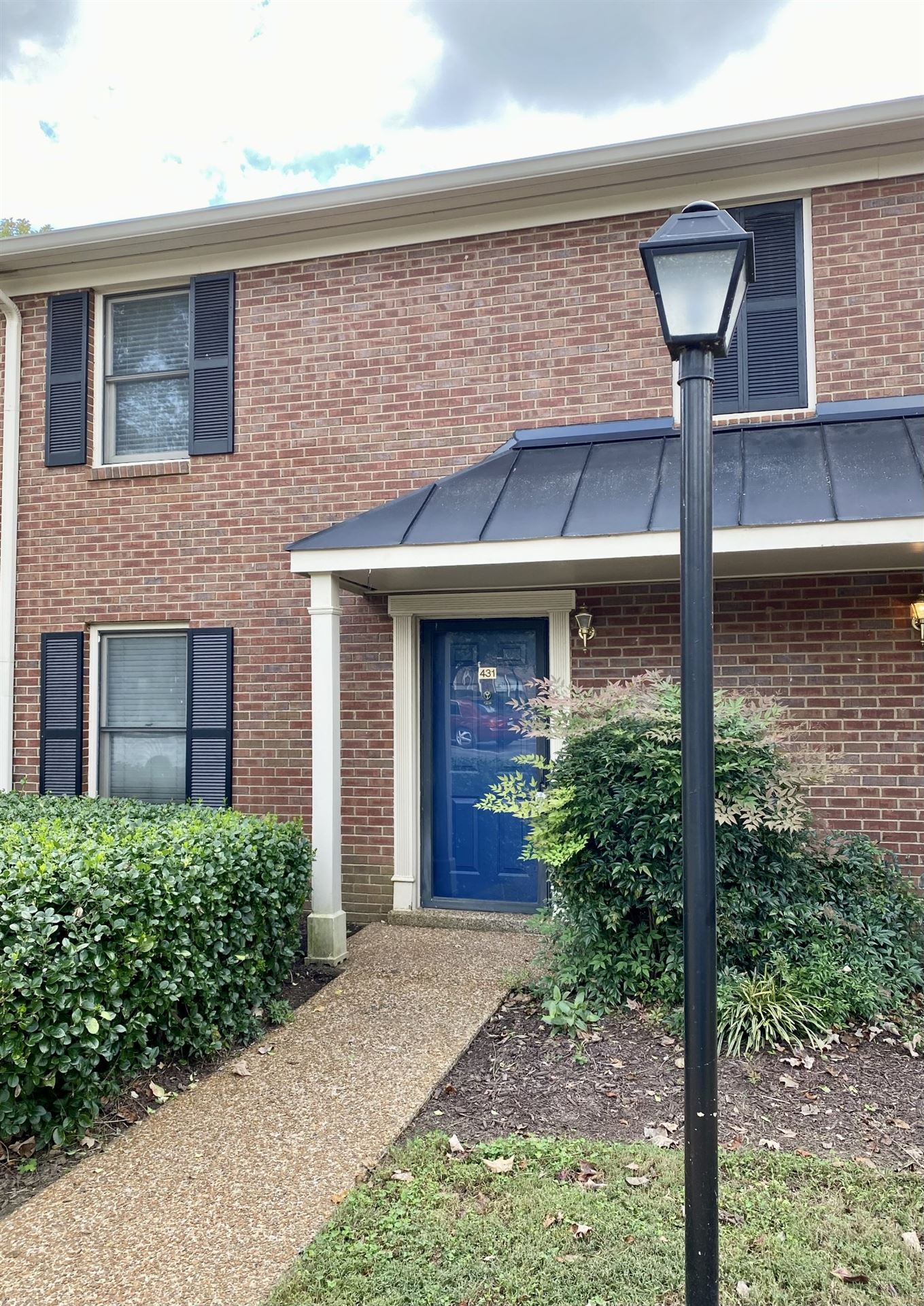 431 Westfield Drive #431, Nashville, TN 37221 - MLS#: 2300104