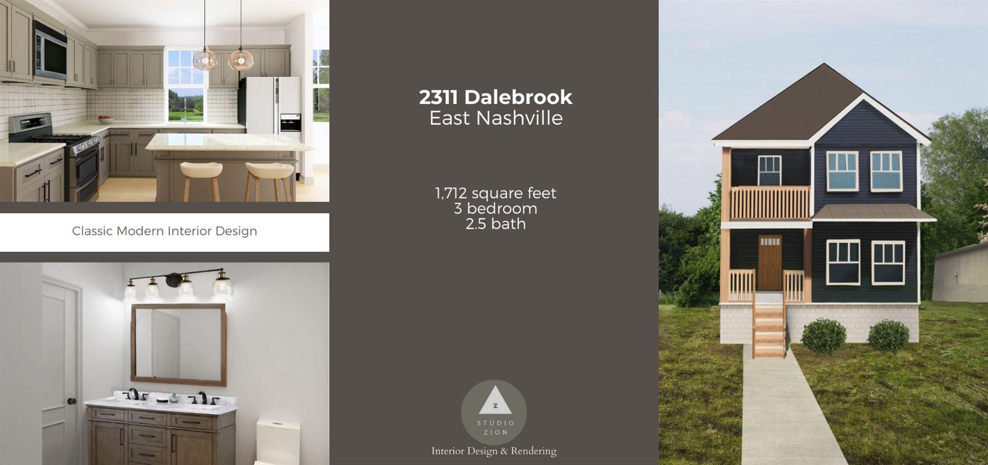 2311 Dalebrook Ct, Nashville, TN 37206 - MLS#: 2266109