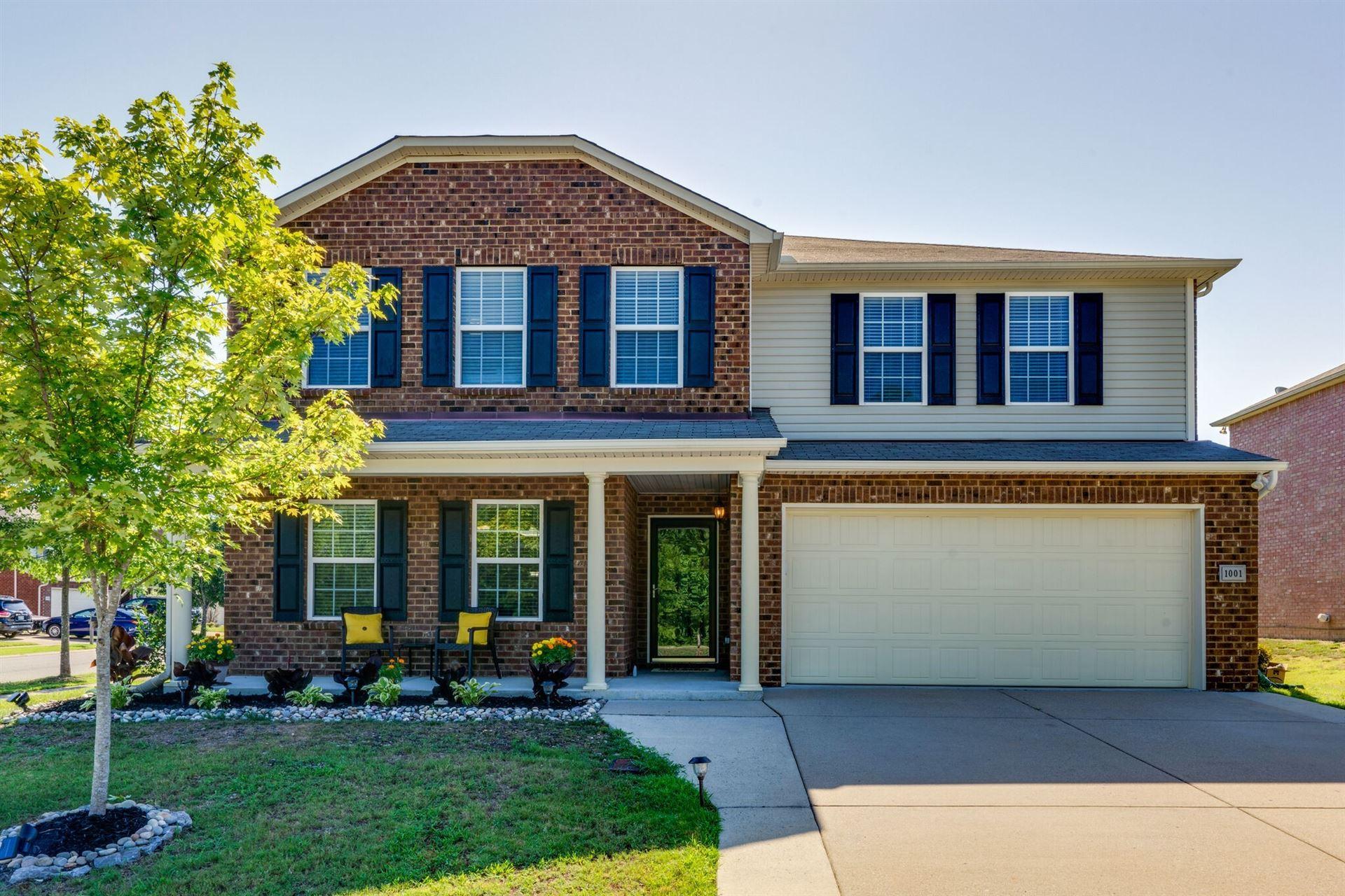 1001 Harmony Ln, Hendersonville, TN 37075 - MLS#: 2192113
