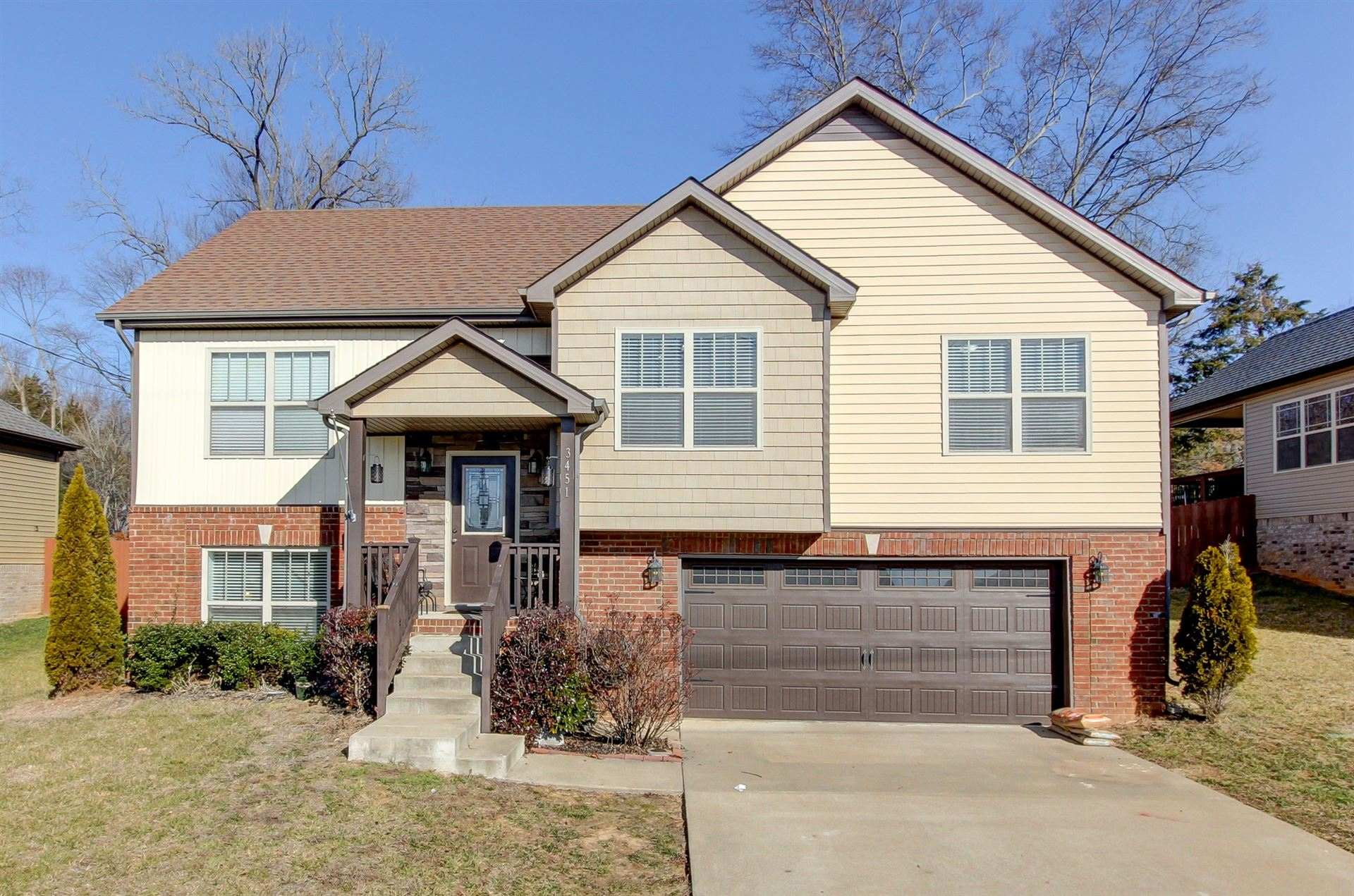 3451 Bradfield Dr, Clarksville, TN 37042 - MLS#: 2222116