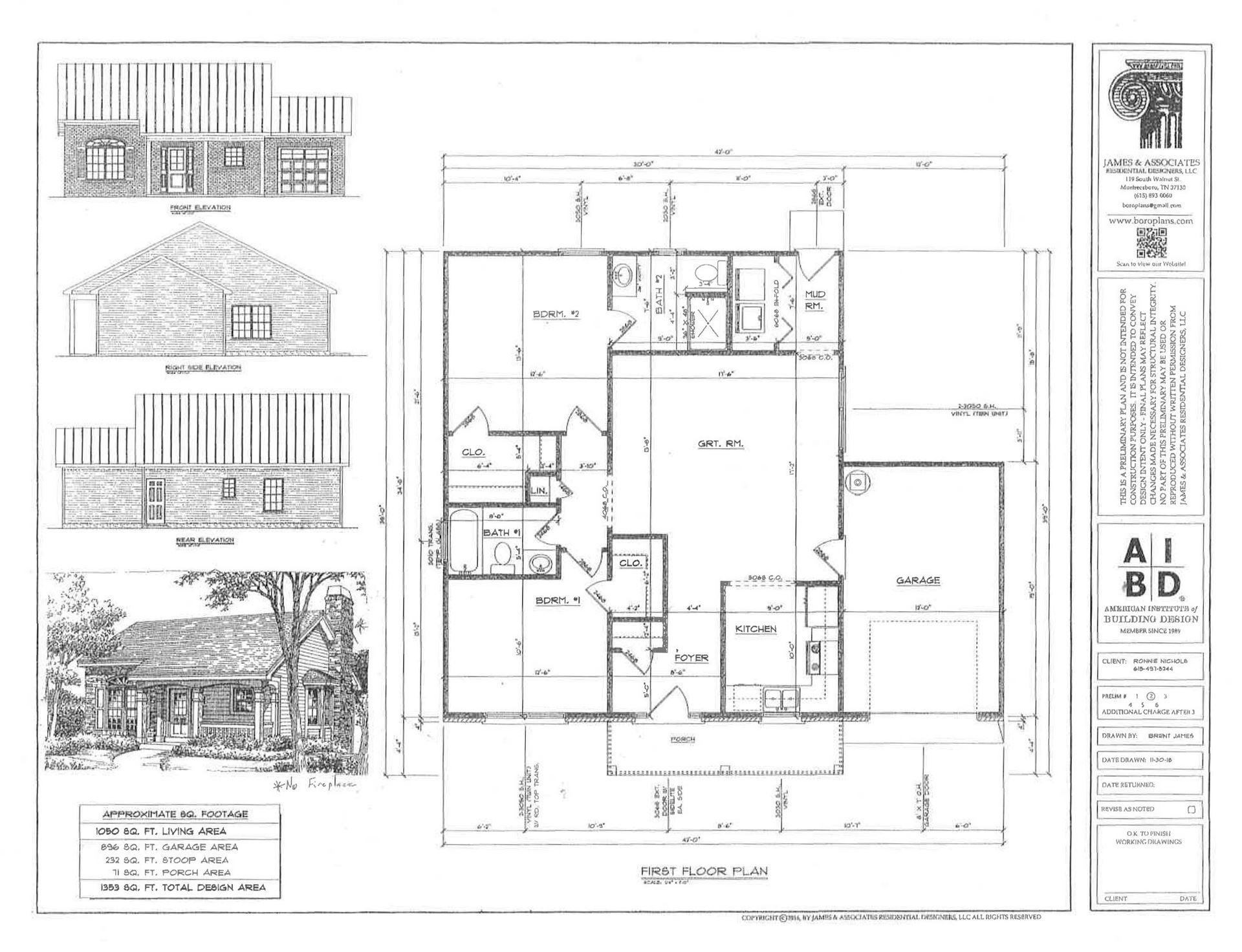 0 Nichols Dr., Woodbury, TN 37190 - MLS#: 2188118